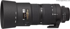 Nikon 80-200mm f/2.8D AF Lens.  For more images and information on camera gear please visit us at www.The-Digital-Picture.com