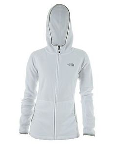 North Face Masonic Hoodie Womens A0CZ-FN4 Tnf White Full Zip Hoody Wmns Size XL