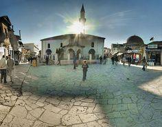 Albanian Market in Skopje, Macedonia. Visited 2007. http://www.travelbrochures.org/5/europa/albanian-travel-guide