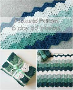 Baby Afghan Crochet Patterns, Crochet Ripple, Crochet Quilt, Crochet Stitches Patterns, Baby Blanket Crochet, Crochet Yarn, Free Crochet, Knitting Patterns, Crochet Afghans