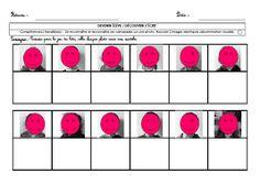 A l'aide des étiquettes présence, coller l'initiale de chaque enfant sous sa photo après manipulation et observation