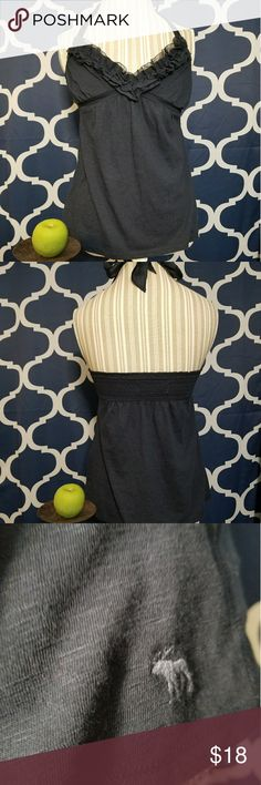 🌻🌺🌻ABERCROMBIE & FITCH HALTER TOP!! SIZE:small   BRAND:Abercrombie & Fitch   CONDITION:like new   COLOR:navy blue   🌟POSH AMBASSADOR, BUY WITH CONFIDENCE!   🌟CHECK OUT MY OTHER ITEMS TO BUNDLE AND SAVE ON SHIPPING!   🌟OFFERS WELCOME!   🌟FAST SHIPPING! Abercrombie & Fitch Tops