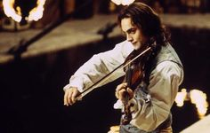 The vampire Lestat played by actor Stuart Townsend