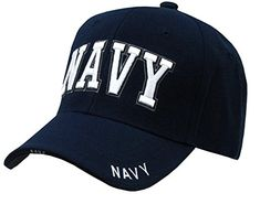 US Navy Text Embroidered Military Baseball Cap Hat By Rapid Dominance Us  Navy Hats 4d161c8cbe9e