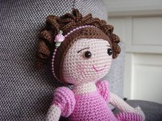 ********************************************************************************** !!!This Listing is for the PDF crochet PATTERN and NOT the actual doll !!! You can find many great finished crocheted ballerina's here on Etsy. For instance: https://www.etsy.com/shop/JITKAB