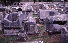 Cemetery at Manastirine, Salona by Maria Daniels 3/1997 Perseus Digital Library Image