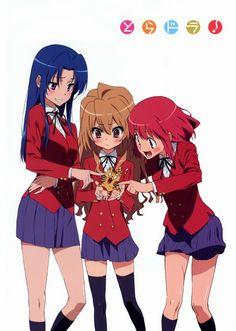 Taiga, Minori & Ami | Toradora