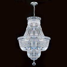 Empire 12 Light Crystal Chandelier
