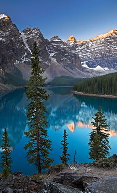 Moraine Lake in Banff National Park ~ Alberta, Canada • photo: Adam Burton on TrekEarth