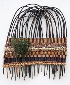 Basketry, Tim Johnson, Artist, Mountainscape, 2011