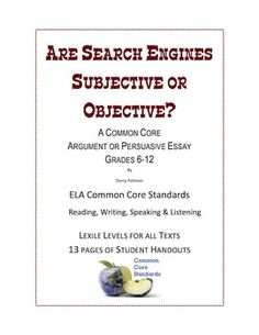 english essay search engines Free essay: each site is ranked by popularity on the web this is where web pages success rates come into play, a site that is close to the top of the search.