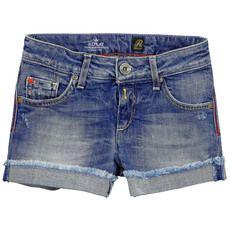 Replay&Sons - Short en denim bleu stoné - 69034
