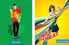 Just Casuals Press Ad Advertising, Ads, The Way You Are, Cool Designs, Press Ad, Portrait, Casual, Image, Men Portrait
