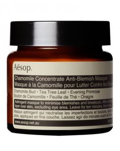 2015 / Aesop Chamomile Concentrate Anti-Blemish Masque, £33 / Cult Beauty