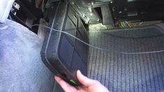 Замена угольного фильтра Mercedes W210 Charcoal filter replacement