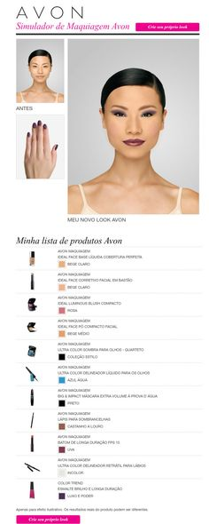 99b0d519a8131 Did you know you can do a virtual make over online with Avon products