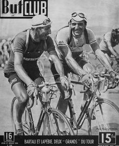 Bartali and Lapébie, Tour de France 1948