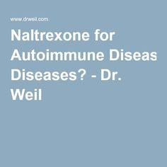 naltrexone and autoimmune disease