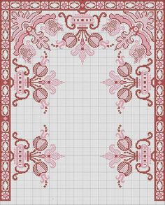 Cross Stitch Rose, Cross Stitch Borders, Cross Stitch Designs, Cross Stitching, Cross Stitch Patterns, Blackwork Embroidery, Embroidery Patterns Free, Cross Stitch Embroidery, Embroidery Designs