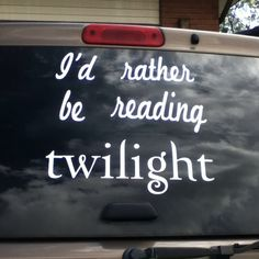 "Twilight car "" The Twilight Mobile"" hahahah"