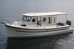 RF-246 & 22 | Rosborough Boats: http://www.yachtworld.com/boat-content/2011/02/pocket-trawlers-five-for-value-and-versatility/