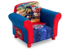 Delta Children PAW Patrol Upholstered Chair, Right view a1a #UpholsteredChair