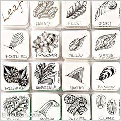 Learn to create Zentangle® • enioken.com #InterestingThings