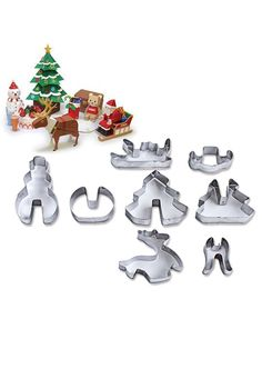 8Pcs Christmas Cookie Mould  Free Shipping & 30 days Easy Return. Shop Affordable & Stylish Dresses, Tops, Shorts & More. # #Kitchen&Dining