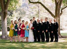 Jewel toned wedding.