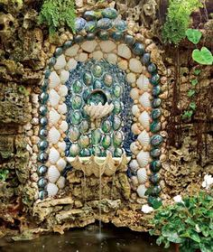 grotto. wow, would I love to have something like this!