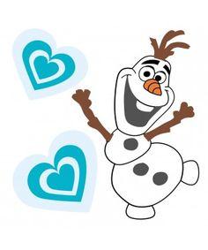 Frozen Olaf Wall Sticker x 10