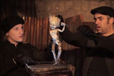 """Photo By Theo Cote. Puppet Showplace presents internationally-acclaimed Canadian puppeteers, Les Sages Fous with their """"Orphan Circus"""" Nov 13-15, 2013. Event Page: http://puppetshowplace.org/index.php?page=the-orphan-circus"""