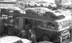 Fiat_682 RN2 open deck Scuderia Ferrari race_car_transporter by Carrozzeria Bartoletti circa 1967