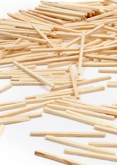 Wooden match sticks available in packs of