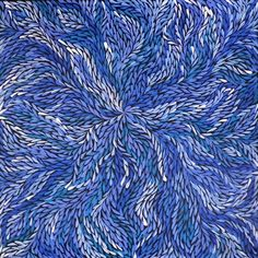 Wild Yam Flower - © Jeannie Petyarre (Jeannie's aunt was the famous painter Emily Kame Kngwarreye)