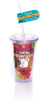 Gummy Bear Tumbler ..... but correct the typo -- hahaha