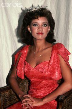 Vanessa Williams as Miss America, 01 August 1983. © Robert Maass/CORBIS