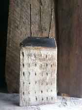 Tall Vintage White Saltbox Home Repurposed Wood Rustic Folk Art By A.Gambrel