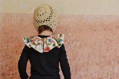 Lany, Ruffle Blouse, Detail, Kids, Handmade, Women, Fashion, Young Children, Moda