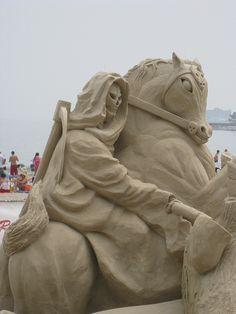 Death Rides a Sand Horse by historygradguy (jobhunting), via Flickr