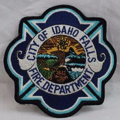 City of Idaho Falls Fire Department Patch Patches For Sale, Idaho Falls, Fire Department, Selling On Ebay, City, Fire Dept, Cities