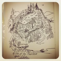 My Side of the Mountain map