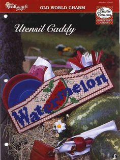 Watermelon Utensil Caddy 1/3