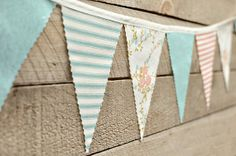 Easy to make! You can use old sheets, fabric matching your color scheme, or burlap!
