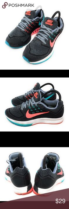3395deead723 Nike air zoom Nike Air Zoom Structure 18 Women s Premium Running Shoes Size  7.5 Nike Shoes