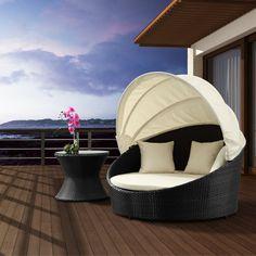 Zuo Modern Colva Espresso Canopy Bed | Pure Home