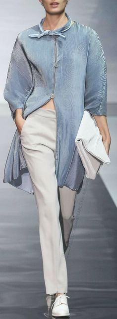ARMANI just never stops making pared down elegance look so desirable