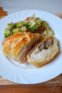 Polish Recipes, Meat Recipes, Snack Recipes, Cooking Recipes, Snacks, Meat Meals, Tasty Dishes, Baked Potato, Pork