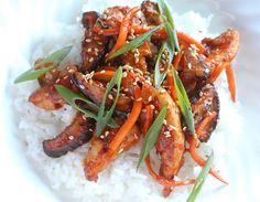 Korean Chili Chicken Stir Fry