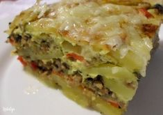 recipes & photos by Natalija Kiflice Recipe, Musaka, English Food, English Recipes, Best Food Ever, Food Menu, Casserole Dishes, Food Photo, Lasagna